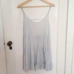 Brandy Melville Baby Blue slip dress